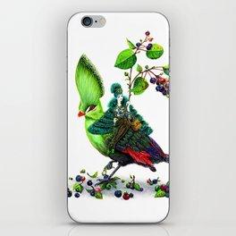 Turaco iPhone Skin