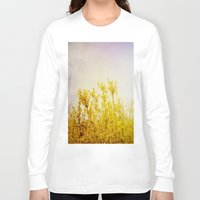 coldplay Long Sleeve T-shirts featuring And it Was All Yellow by Olivia Joy StClaire