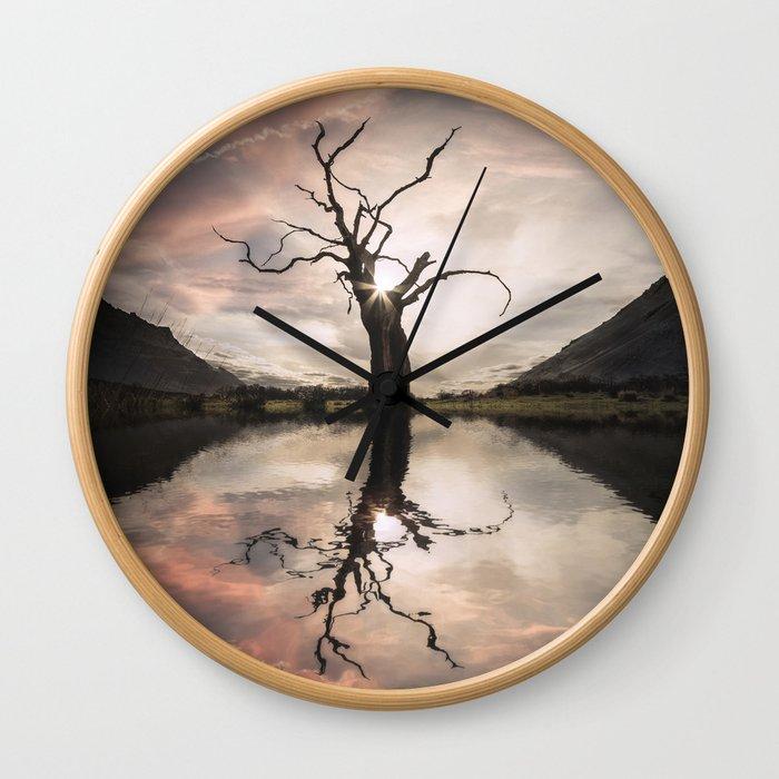 Sgùrr Alasdair Sunset - United Kingdom Wall Clock