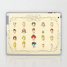 The Marvelous Cartoon Wigs Museum Laptop & iPad Skin