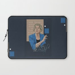 """""""Nevertheless, She Persisted"""" Laptop Sleeve"""