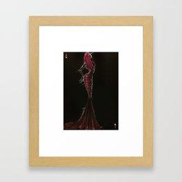 Azzedine. The king of hearts Framed Art Print