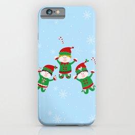 Xmas Elves iPhone Case