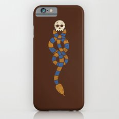 The Scarf Mark - Blue and Gold iPhone 6s Slim Case