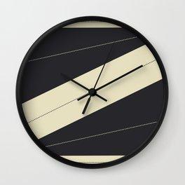 Cream de Cocoa Wall Clock