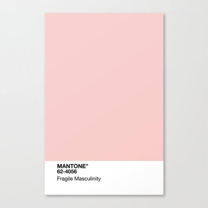 MANTONE® Fragile Masculinity Leinwanddruck
