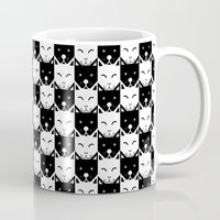 chess Mugs featuring Chess by pilastrum
