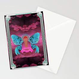 buddherfly #1 Stationery Cards
