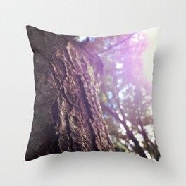 Sunny Tree Throw Pillow
