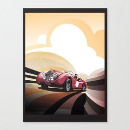 Jaguar XK 120 Canvas Print