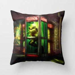 Loveland Frog Throw Pillow