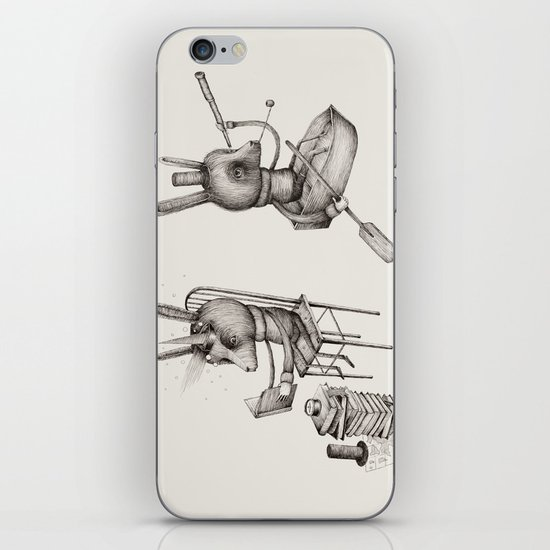 'Dreams Of Leaving' (Part 1 & 2) iPhone & iPod Skin