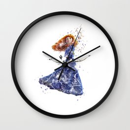 Brave Merida Disneys Wall Clock