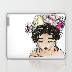 Flower Crown Clara Laptop & iPad Skin