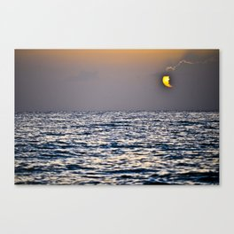 Key Sunset Canvas Print