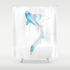 Phantom 2 Shower Curtain