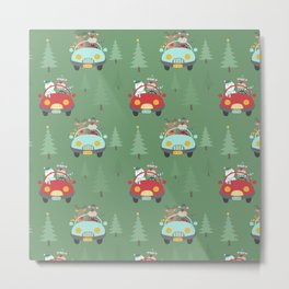Amazing Christmas Design Metal Print