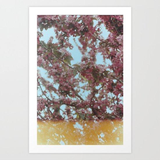 Analog tree Art Print