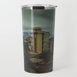 Kathmandu City Roof Top 001 Travel Mug
