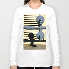 Shadow Fold Long Sleeve T-shirt