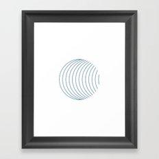 #352 Orbital – Geometry Daily Framed Art Print