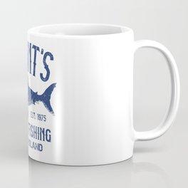 Quint's Shark Fishing - Amity Island Coffee Mug