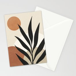 MINIMALIST NATURAL SHAPES 01 Stationery Cards