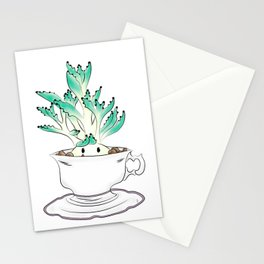 Cute Succulent Stationery Cards