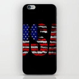 Distressed USA Flag iPhone Skin