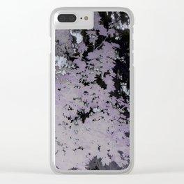 Purple Trees Landscape | Nadia Bonello | Canada Clear iPhone Case
