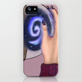 Space in the bottle iPhone Case