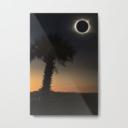 Palmetto Eclipse Metal Print