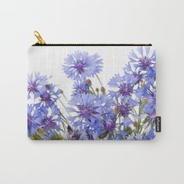 Cornflower and chamomile many flowers Carry-All Pouch