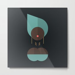 BLACK MAGIC WOMEN / Adjatay Metal Print