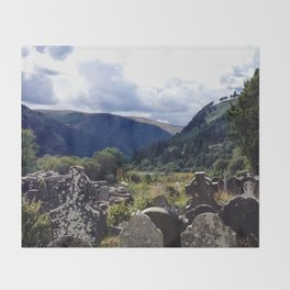 Glendalough, Ireland Throw Blanket
