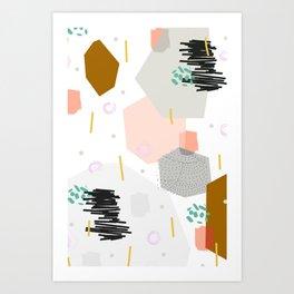 Slump Art Print