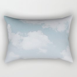 summer clouds Rectangular Pillow