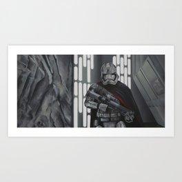 Stormy Knights Art Print