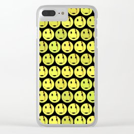 smiley face symbol Clear iPhone Case