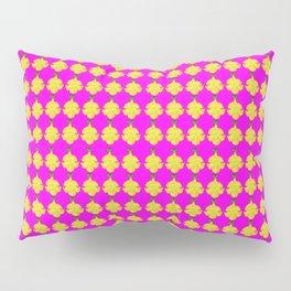 Cat's Claw Bloom illustration (magenta background) Pillow Sham