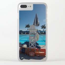 Lifeguard in the Sunshine Clear iPhone Case