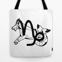 Capricorn, the Sea Goat Tote Bag