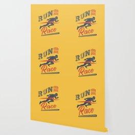 Run your race Wallpaper