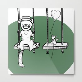 Swings! Metal Print