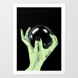 Crystallomancy Art Print