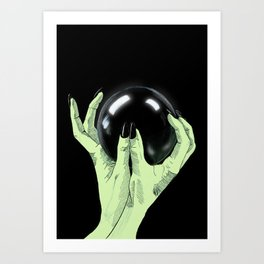 Crystallomancy Art Print