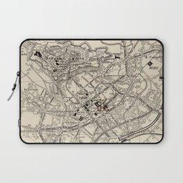 Vintage Map of Bergamo Italy (1943) Laptop Sleeve