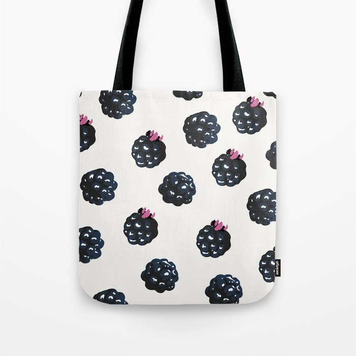Blackberries pattern Tote Bag