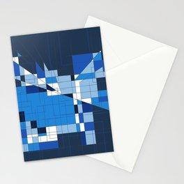 the blue dog Stationery Cards