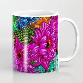 """Cacti Floral Madness"" Coffee Mug"